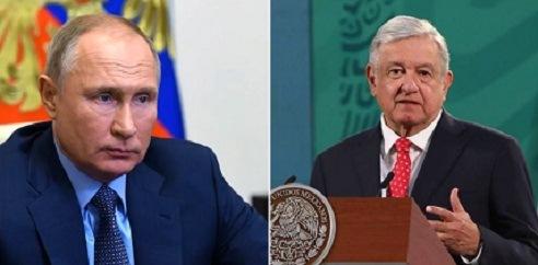 ¡VAYA¡ HASTA QUE HACEN ALGO CONGRUENTE…AMLO hablará con Putin sobre suministro de vacuna rusa: Ebrard