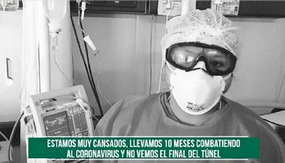 """""""Si no nos ayudas, no vamos a resistir"""": médicos del IMSS piden a mexicanos ser solidarios en lucha contra el Covid-19"""