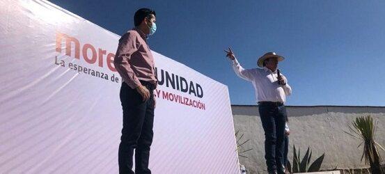 CON LA IMPOSICIÓN DE MARIO DELGADO… David Monreal concluyó el proceso de precampaña por la gubernatura de Zacatecas