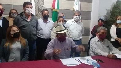 Esteban Ramírez no tiene figura política dentro de Morena; no es militante; le tomó el pelo a autoridades del OPLE: Delegados