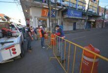 Restringen movilidad en zona de mercado por COVID19, intensifican medidas sanitarias en Córdoba