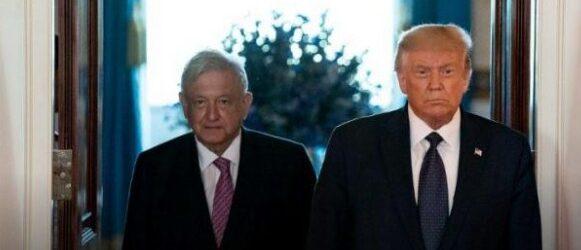 BENEFICIA O PERJUDICA A MÉXICO…Trump agradece a AMLO por amistad