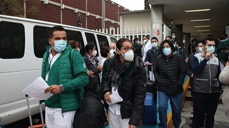 """Envía IMSS Veracruz sur  segunda brigada de apoyo a la operación """"Chapultepec"""""""