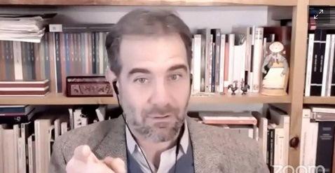 """El 4 abril deberá suspenderse la transmisión íntegra de las """"mañaneras"""": Lorenzo Córdova"""
