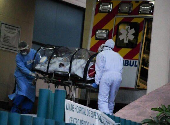 México supera las 186 mil muertes por covid-19
