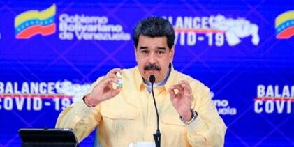 "Nicolás Maduro presume gotas ""milagrosas"" que neutralizan Covid-19"