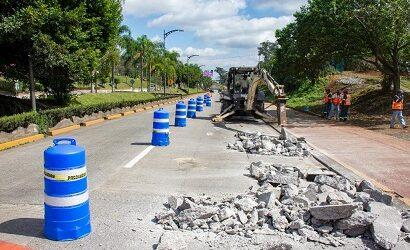 Rehabilita Ayuntamiento Boulevard Tratados de Córdoba, con sus programa de Bacheo