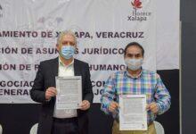 Se conjura la huelga de empleados municipales  de Xalapa; aceptan el 3.4% de incremento salarial