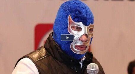 Blue Demon no se quitará la máscara para gobernar
