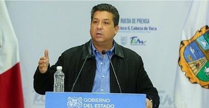 Gobernador de Tamaulipas se presentará en la Cámara de Diputados para que se le notifique de qué se le acusa