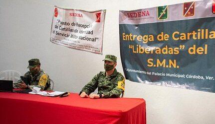 Amplían plazo para recepción y entrega de Cartillas del Servicio Militar Nacional en Córdoba