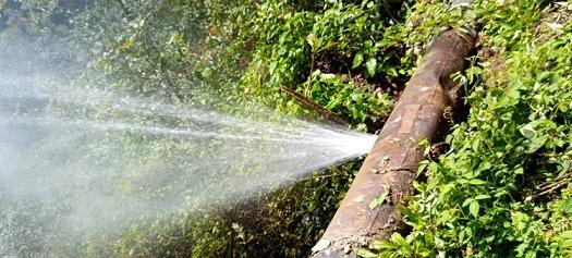 Por fuga de la línea de conducción, se suspenderá el servicio  de suministro de agua potable en varias colonias de Xalapa