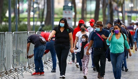 México acumula 212 mil 339 muertes por Covid-19