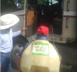 (VIDEO)ARRANCA OPINIONES POSITIVAS…Inició CNPR sanitización de carros fleteros cañeros en El Potrero