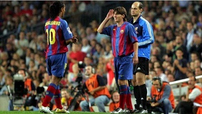 El emotivo mensaje de Messi a Ronaldinho tras la muerte de su madre
