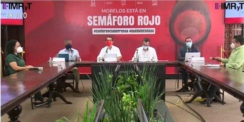 Morelos rechaza cifras de López-Gatell sobre Covid en esa entidad