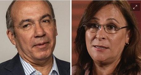Felipe Calderón y Rocío Nahle se enfrentan en Twitter por la reforma eléctrica