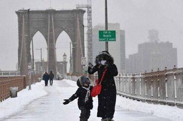 Nueva York en alerta ante fuertes nevadas; hay cientos de afectados