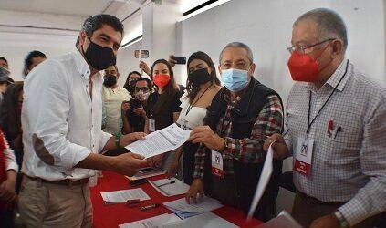 Candidatos del PRI darán la cara por Veracruz para recuperar el  orden, la paz y la congruencia para gobernar: Marlon Ramírez