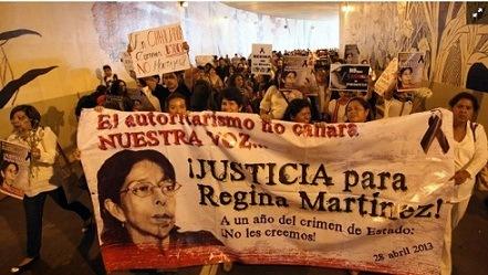 DE XALAPA, VERACRUZ…Ordenan a FGR revelar investigación por crimen de periodista Regina Martínez Pérez