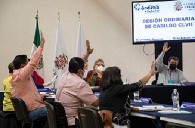 Acuerda Cabildo de Córdoba ampliar plazo para cubrir predial y limpia pública con descuentos