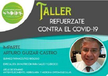 """Invitan a taller gratuito: """"Refuérzate contra el Covid-19"""