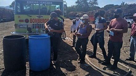CNPR DE POTRERO LLEVA SU CAMPAÑA SATINIZANTE CONTRA EL COVID-19 A CUITLAHUAC