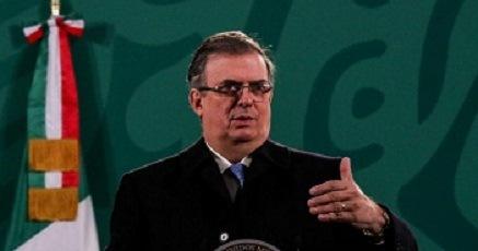 Marcelo Ebrard: COVAX no ha entregado una sola vacuna a México, eso ya preocupa