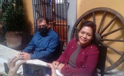 Maura Hernández Martínez la única mujer que se registra como aspirante de MORENA a la alcaldía de Córdoba.