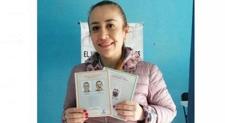 Nora lagunes no conoce el respeto a la militancia; muestra la boleta donde votó por su hermano