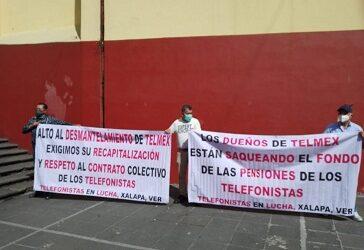 """Telmex considera a jubilados como """"pasivo laboral y una    carga económica, busca modificar sistema pensionario"""
