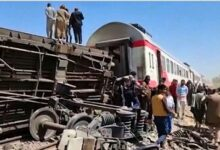 Choque de trenes en Egipto deja al menos 32 muertos y 66 heridos