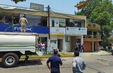 ANTE LA INCOMPETENCIA…Con carros cisternas, CMAS suministrará el vital  elemento a familias de la colonia Obrero Campesina