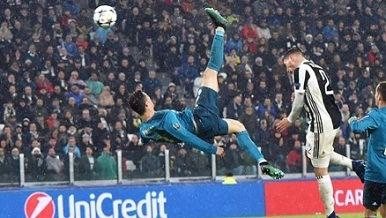 Cristiano Ronaldo: UEFA recordó el gol de chilena de CR7 con el Real Madrid