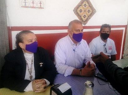 PARTIDO PODEMOS REALIZA SU GIRA DE TRABAJO EN LA ZONA CENTRO