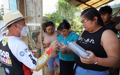 Igor Rojí busca trabajar por el mejoramiento del sistema de agua potable para el municipio de Río Blanco