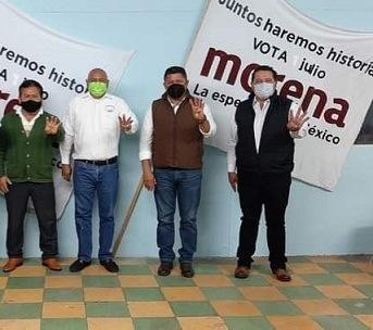 Nestor Plural: Morena en Cabada prepara movilización ante una posible imposición de candidato a la presidencia municipal.