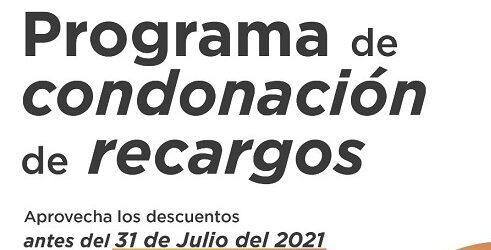 Continúa vigente programa de condonación de recargos en derechos municipales en Córdoba