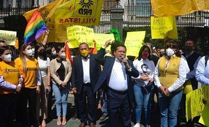PRD responsabiliza al Gobernador del Estado del levantó que sufrió su candidato a la alcaldía de Tihuatlán Gregorio Gómez