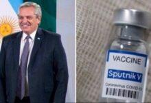 Sputnik V responde a Argentina, tras el contagio de COVID-19 del presidente Fernández, pese a estar vacunado