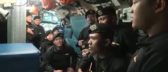 Cantando y sonriente, así se veía tripulación del submarino hundido en Bali en último video