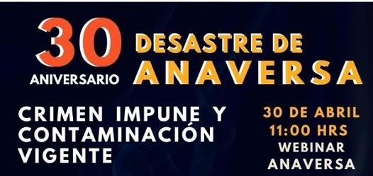 Programa de actividades para conmemorar 30 años del caso ANAVERSA