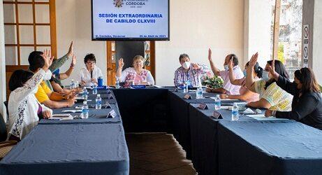 Sesiona Cabildo de Córdoba, conoce de la negativa de regidor suplente para asumir titularidad