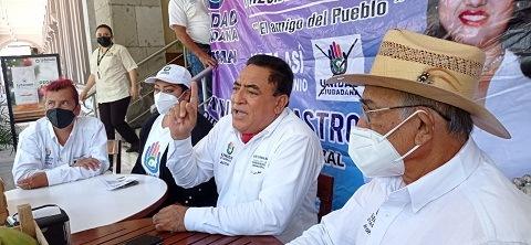 Denuncia candidato de Unidad Ciudadana a la alcaldía de Actopan intromisión del gobierno estatal en los comicios municipales