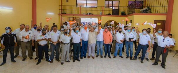Agua y salud, temas de mayor clamor ciudadano que atendremos con un Buen Gobierno: Tomás López