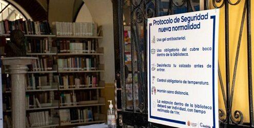 Bibliotecas públicas y quioscos digitales de Córdoba reanudarán actividades 24 de mayo