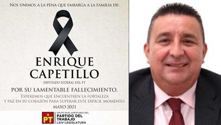 Enrique Capetillo, diputado federal de Veracruz, muere de un infarto