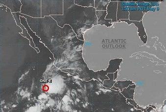 Se forma el primer ciclón tropical de la temporada 2021