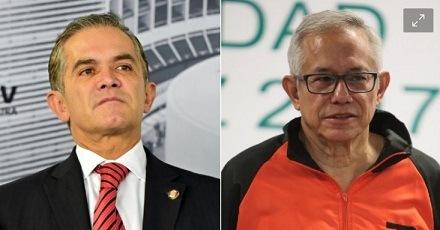 Miguel Ángel Mancera y Jorge Gaviño son denunciados ante la FGJ por desplome en L-12
