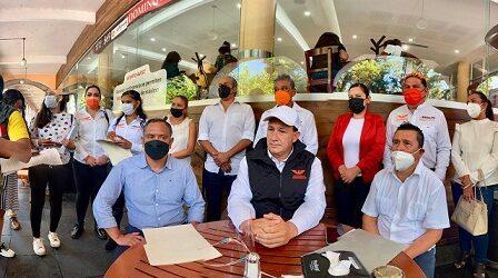 Desbandada de militantes priistas y de Fuerza por México de Banderilla a favor del candidato Arnulfo Rodríguez